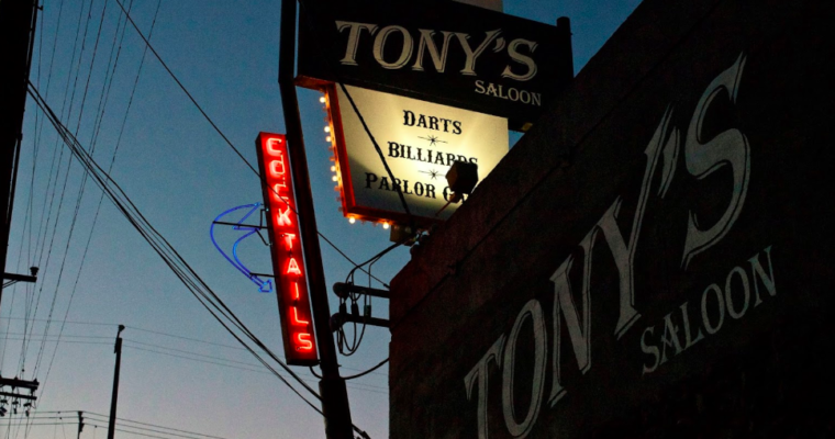 The City Observed: Tony's Saloon